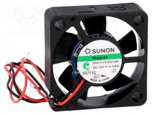 SUNON Cooling Fan 30x30x10 12V