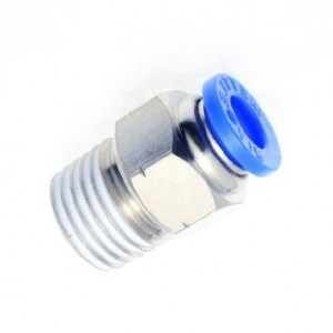 Push fitting connector 6mm 1/8 BSP