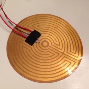 Heated Bed 160mm for Kossel Mini