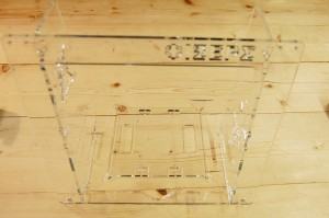 Prusa i3 πλαίσιο σε plexiglas 8mm