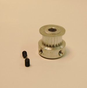 Aluminum Pulley 20-tooth GT2 5mm